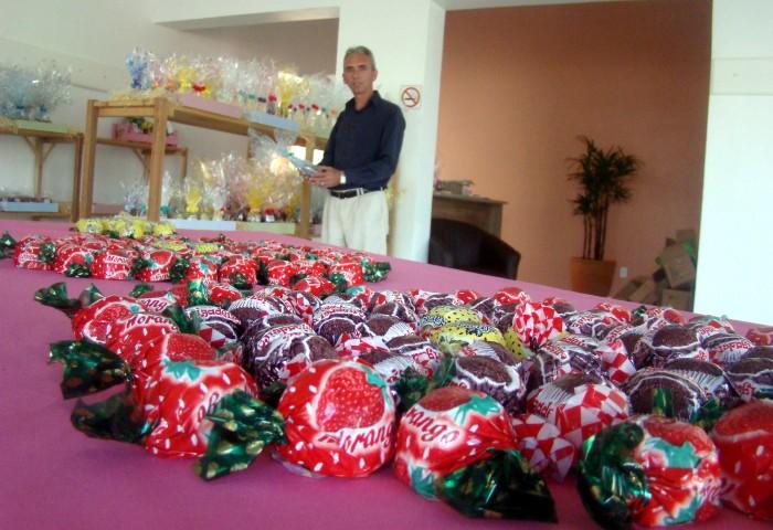Chocolates da Chococande já estão sendo comercializados