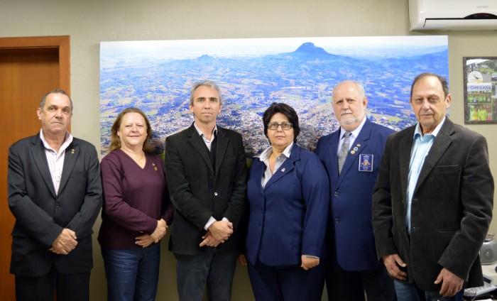 Governador Rotariano visita o prefeito Paulo Butzge