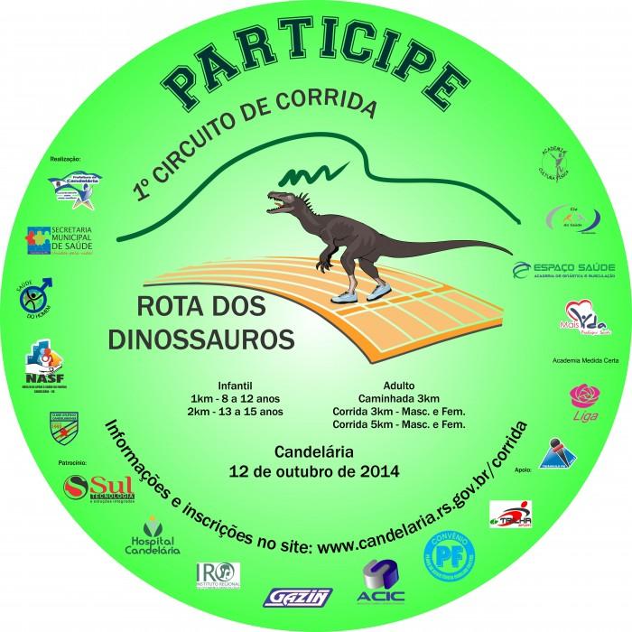 Incri��es I Circuito de Corrida Rota dos Dinossauros 2014