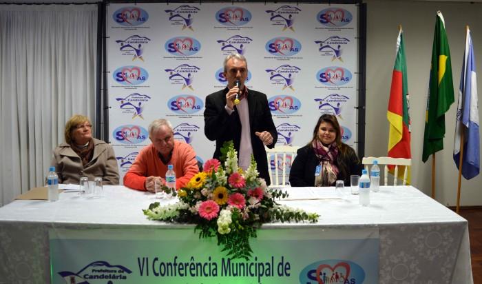 Candel�ria realizou VI Conferencia de Assist�ncia Social