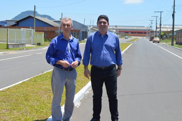 Paulo Butzge recebeu secretário Estadual de Obras, Saneamento e Habitação
