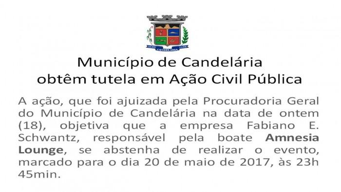 Município de Candelária obtêm tutela em Ação Civil Pública