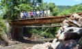 Paulo Butzge inaugura ponte no Palmital