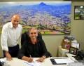 Butzge empossa novo secretário de  Industria, Comércio e Habitação