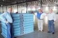 Gazin produz os primeiros colchões