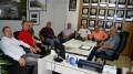 Rui Beise recebe visita de correligionarios