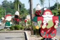 Candelária começa a se vestir para o Natal
