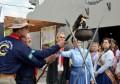 Paulo Butzge acende a chama Crioula no CTG Sentinela dos Pampas