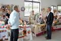 Exposição de artesanato na Casa de Cultura Marco Mallmann