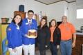 Gabriela Butzge recebe Governador do Distrito LD2