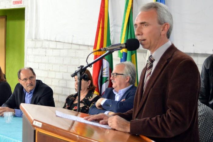 Governador Sartori em Candelária