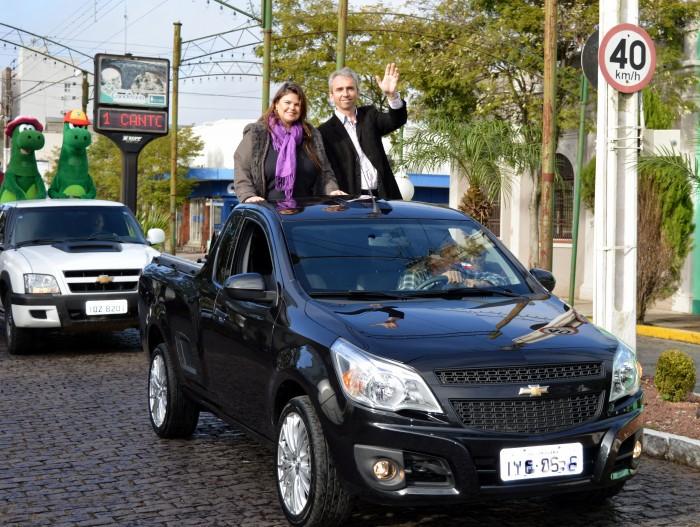 Dia do Colono e Motorista comemorado com desfile
