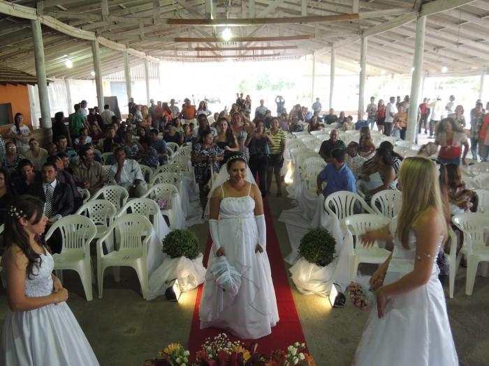 Casamento Coletivo acontece no dia 05 de dezembro