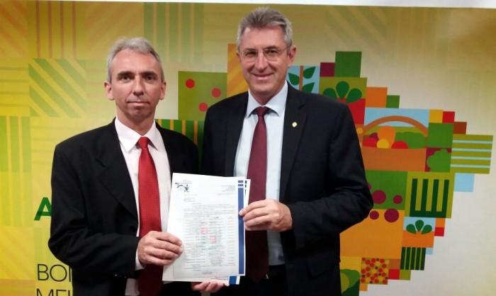 Agenda lotada do prefeito Paulo Butzge em Brasília