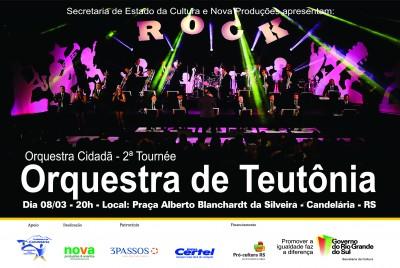 Dia Internacional da Mulher ter� Orquestra de Teut�nia