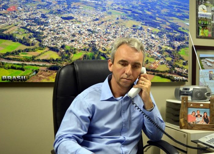 Prefeito de Candelária vai a Brasília na segunda-feira